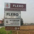 all'entrata di Flero, da Brescia via Flero.