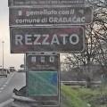 La cartellonistica di Flero sulla Tangenziale Rezzato / Castenedolo