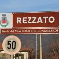 Rezzato: Cartellone strada Botticino Valverde