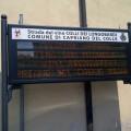 Capriano del Colle : Display presso il Municipio
