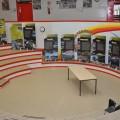 I pannelli della Mostra nell'atrio della Scuola Media di Montirone