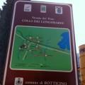 Botticino - Cartello con la cartina presso la frazione di San Gallo